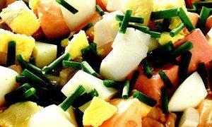 Salata_de_hering_cu_arpagic