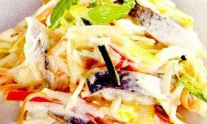 Peste oceanic cu maioneza
