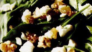 Salata de spanac cu gorgonzola