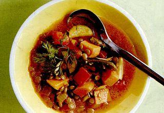 Supa de cartofi cu bulion