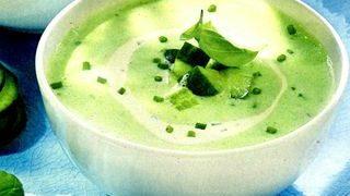 Supa rece de castraveti