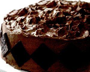 Tort de ciocolată cu boia iute şi must
