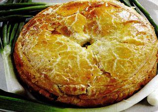 Tort de spanac cu oua