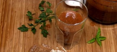 Cum se prepara Gazpacho cu rosii proaspete