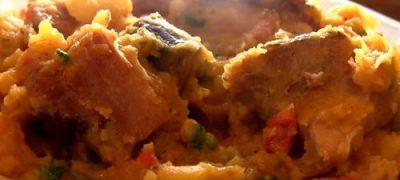 Cum_se_prepara_Mancarica_de_cartofi_cu_carne_afumata