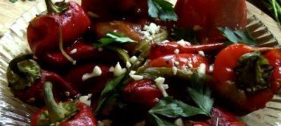 Salata de ardei cu smantana