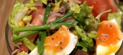 Salata cu ton in ulei