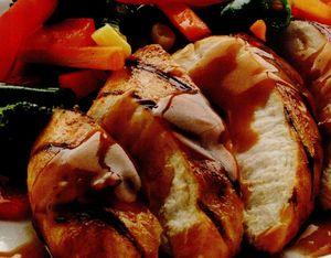 Friptura cu sos barbecue
