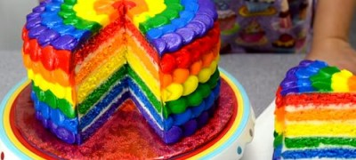How_To_Make_a_Rainbow_Cake