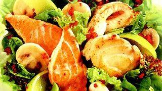 Salata cu peste fin