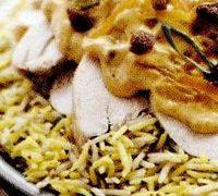 Salata de orez cu sos de mustar