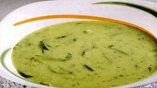 Supa de mazare cu castravete