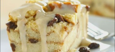 How to make Bread Pudding with Vanilla Bourbon Sauce