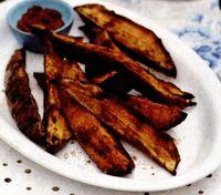Cartofi dulci wedges