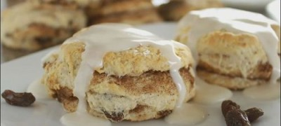 How to make Cinnamon Raisin Biscuits