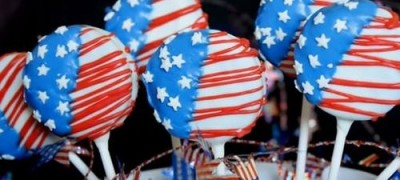How to make 4th of July Cookie Pops