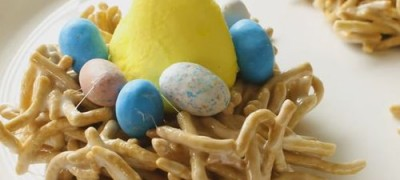 How to make Bird Nest Treats for Easter
