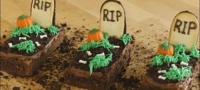 How to make Brownies for Halloween