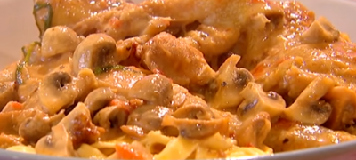 How_to_make_Chicken_chasseur_tagliatelle