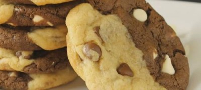 How to make Chocolate White Chip Cookies
