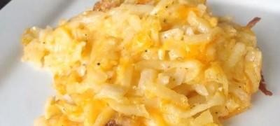 How to make Cracker Barrel Hashbrown Casserole