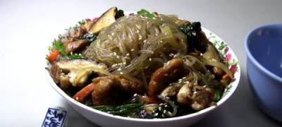 How_to_make_Stir_Fry_Chicken_with_Sweet_Potato_Noodle