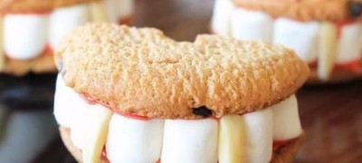 How to make Vampire Teeth Cookies
