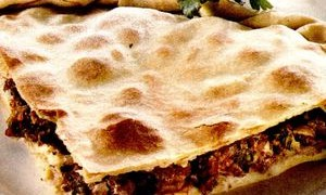 Placinta cu carne si masline