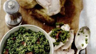 Mazare cu pui si legume