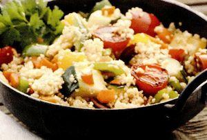 Salata de vara cu cus-cus