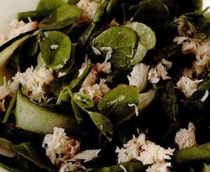 Salata cu clesti de crab