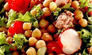 Salata de naut cu pasta de susan
