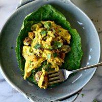 Salata de pui cu dressing de maioneza