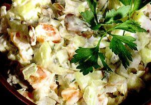 Salata ruseasca cu masline