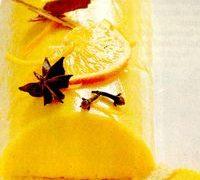 Sarlota de portocale cu branza