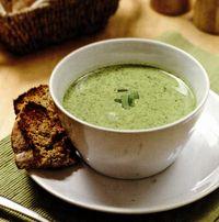 Supa-crema de leurda
