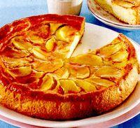 Tarta cu mere si crema de vanilie
