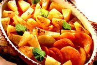Cartofi dulci cu ananas