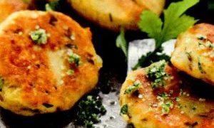 Chiftele de cartofi cu soia