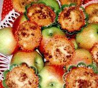 Desert pentru copii: Briose cu mere si nuci