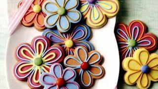 Floricele cu ciocolată
