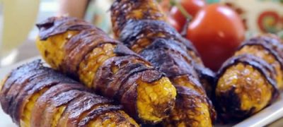 How to Make Bacon Wrapped Corn on the Cob