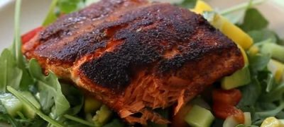 How to Make Blackened Salmon Fillets