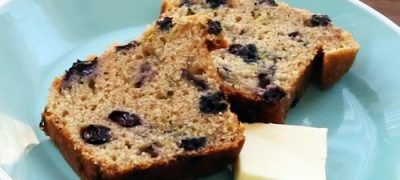 How to Make Blueberry Zucchini Bread