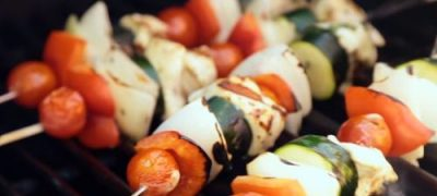How to Make Chicken Mexicana Kabobs