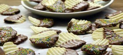 How to Make Chocolate Potato Chips