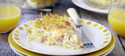 How to Make Ham and Cheese Quiche