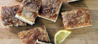How to Make Lemon Cheese Bars