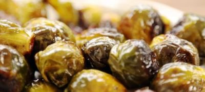 How to Make Maple Roasted Brussels Sprouts with Bacon