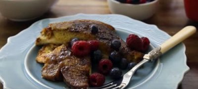 How to Make Oven Baked French Toast